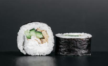 Futomaki with eel